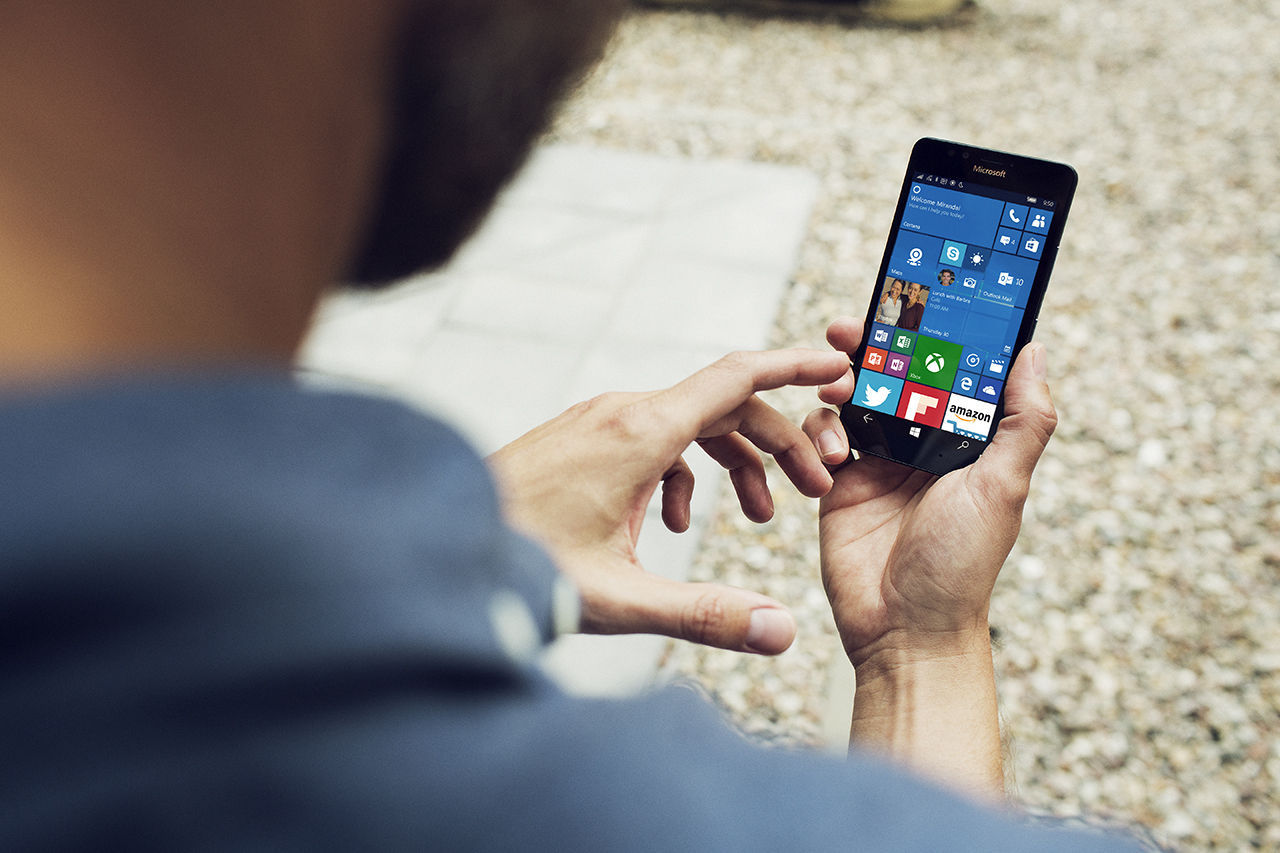 Microsoft jobbar inte på nya funktioner till Windows 10 Mobile