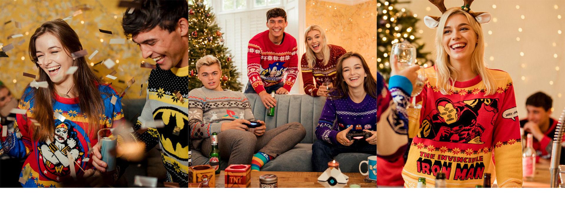 Kom i julstämning med fula jultröjor