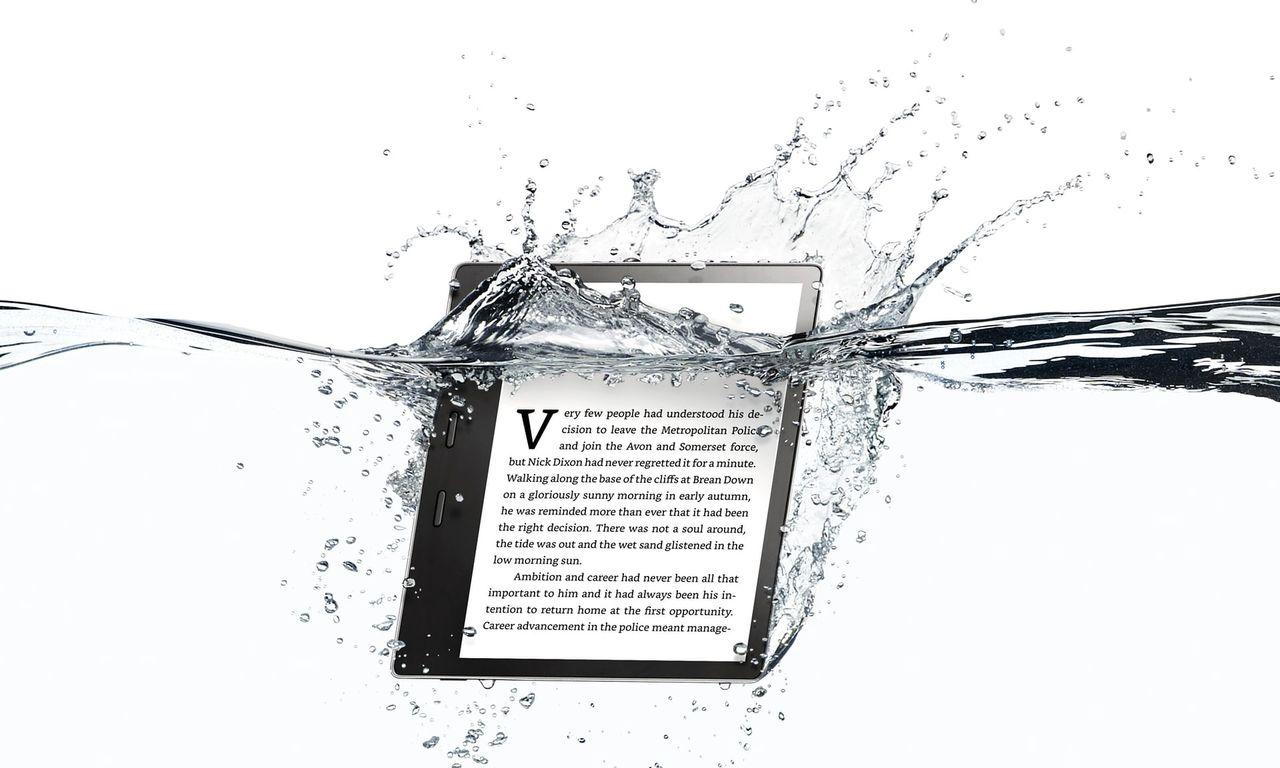 Amazon presenterar nya läsplattan Kindle Oasis