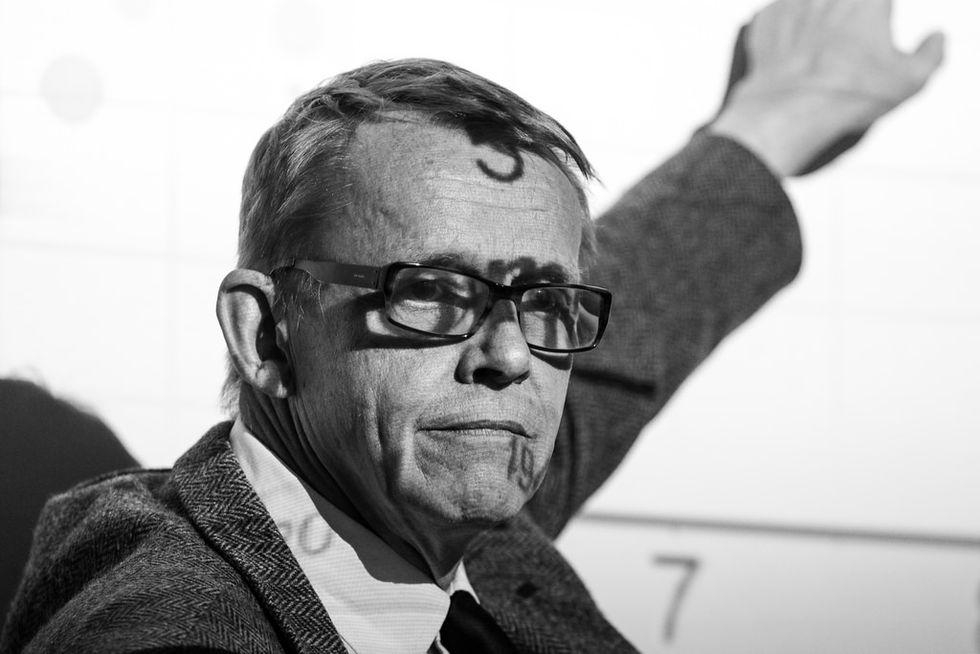 Hans Rosling hann bli klar med sina memoarer