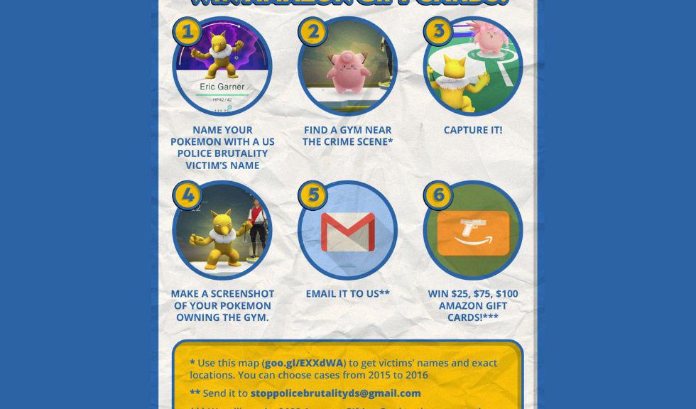 Pokémon Go användes för att öka rasmotsättningar i USA