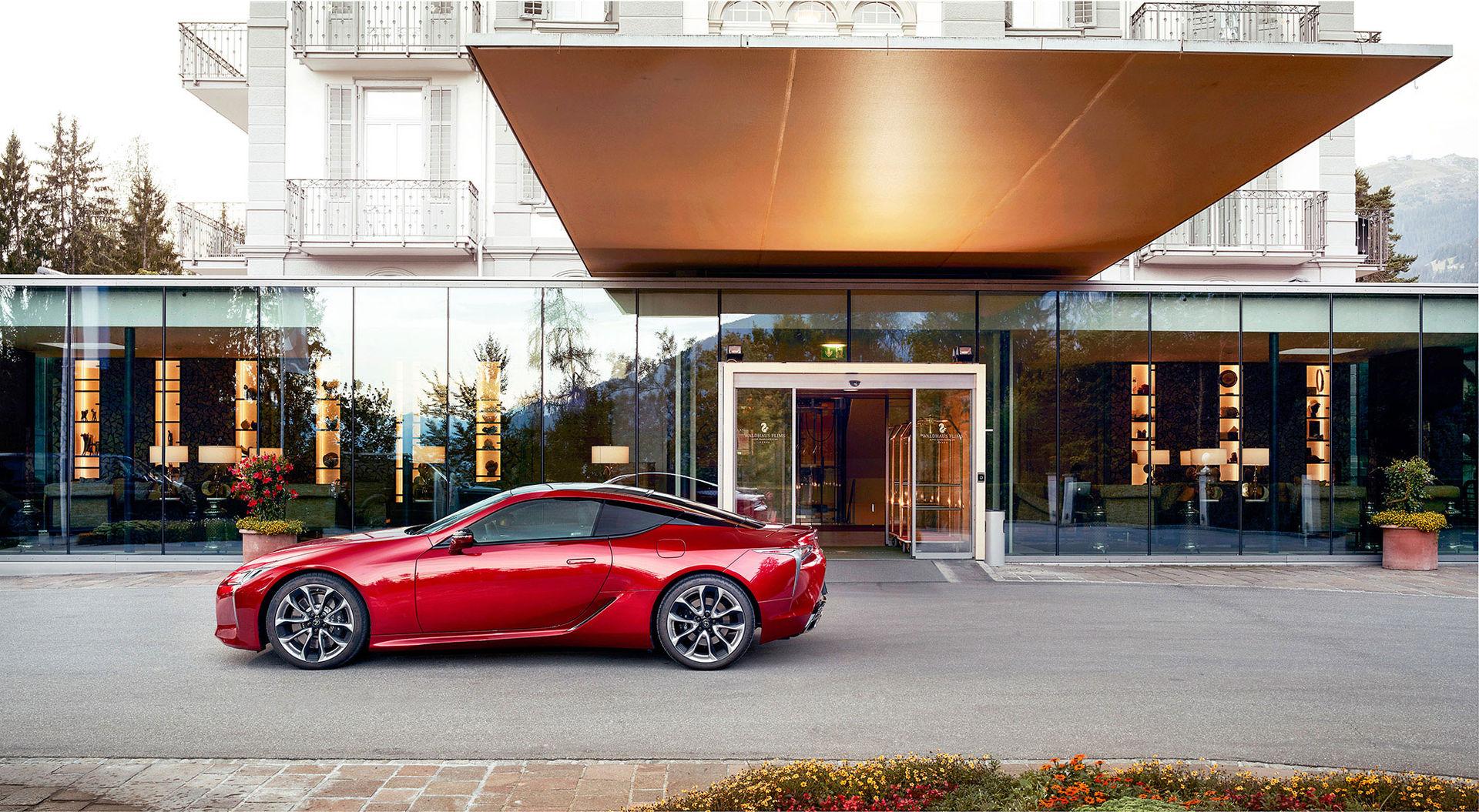 Teknikens Värld provkör Lexus LC 500h