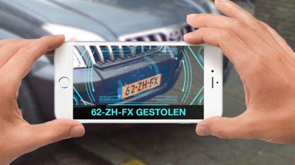 Stulna bilar hittas med ny kamera