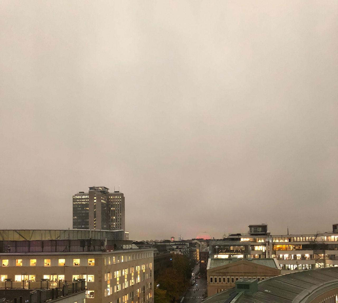 Rätt mörkt idag!