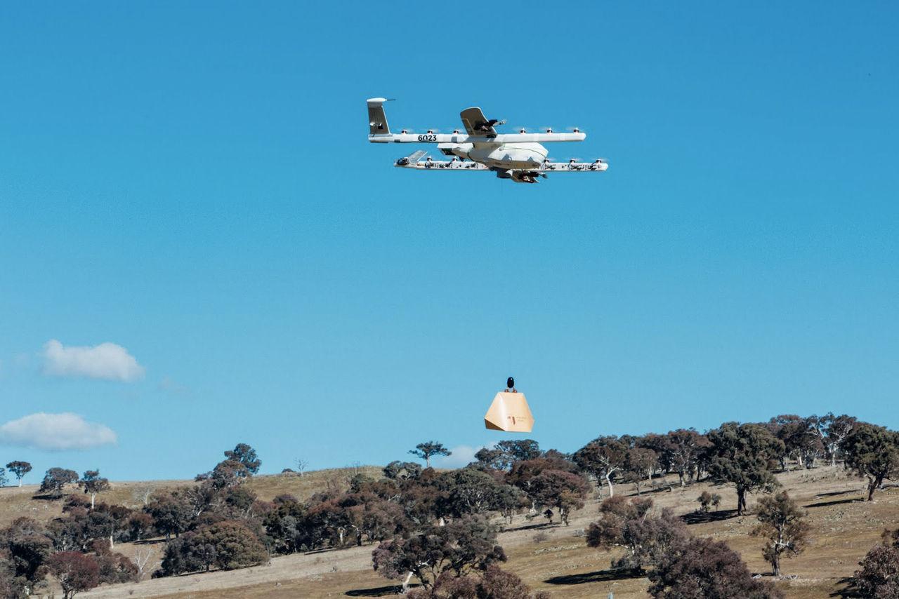 Project Wing börjar leverera burritos i Australien