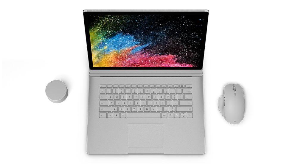 Microsoft presenterar Surface Book 2