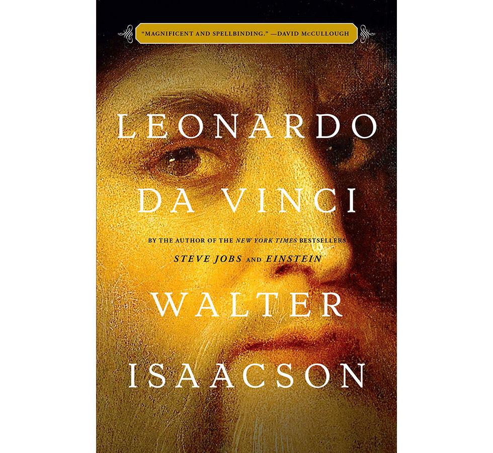 Walter Isaacson har skrivit en bok om Leonardo da Vinci