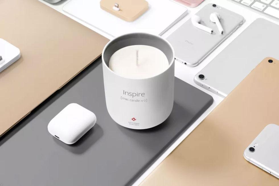 Ny version av doftljuset som luktar som en ny Mac