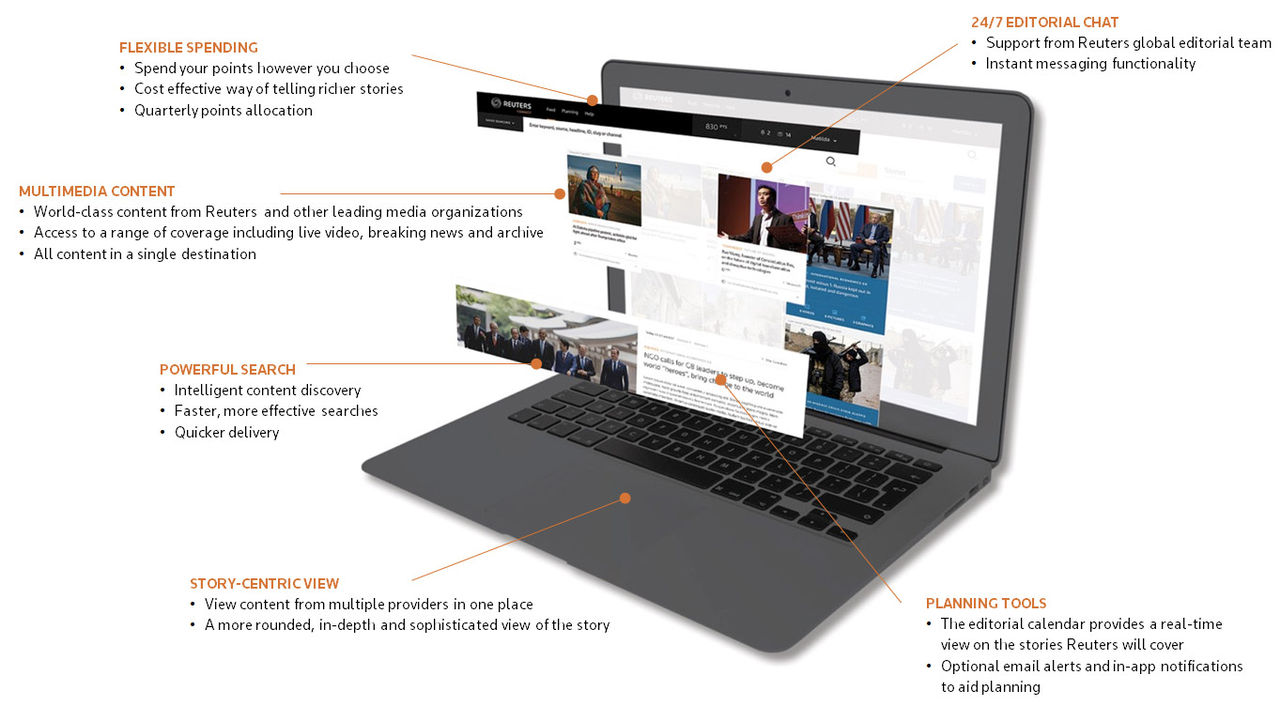 Reuters lanserar Reuters Connect