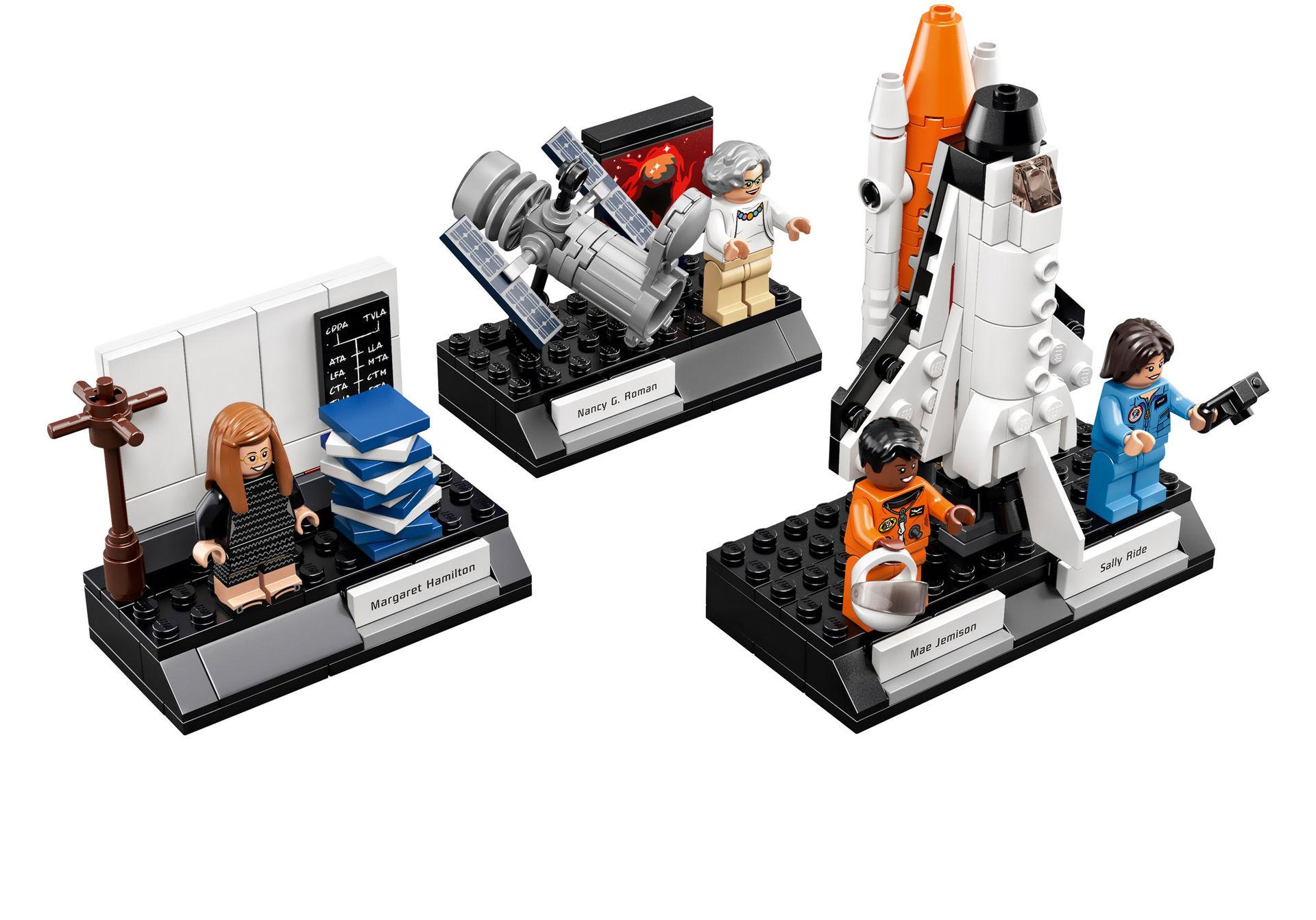 LEGOs hyllning till framstående kvinnor på NASA