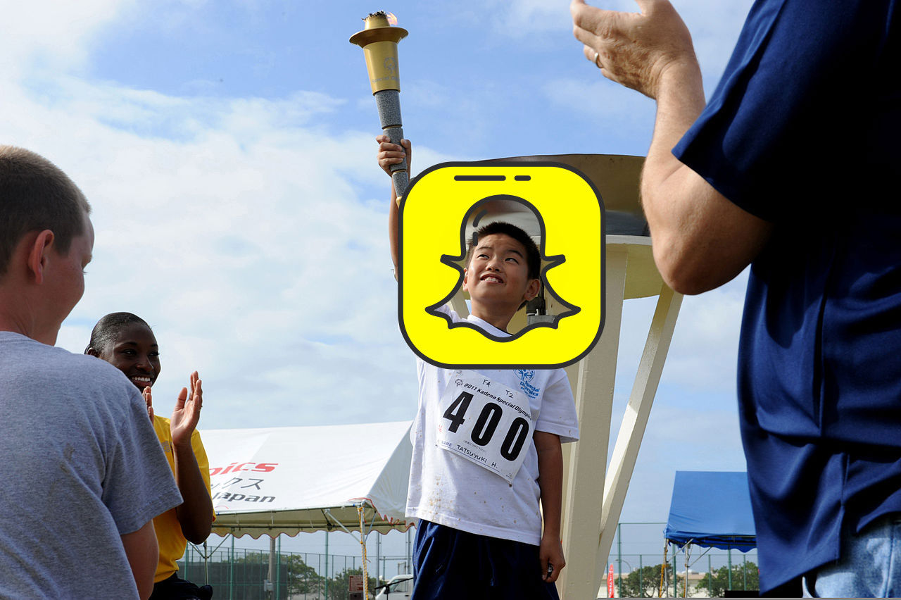 Snapchat ska sända OS