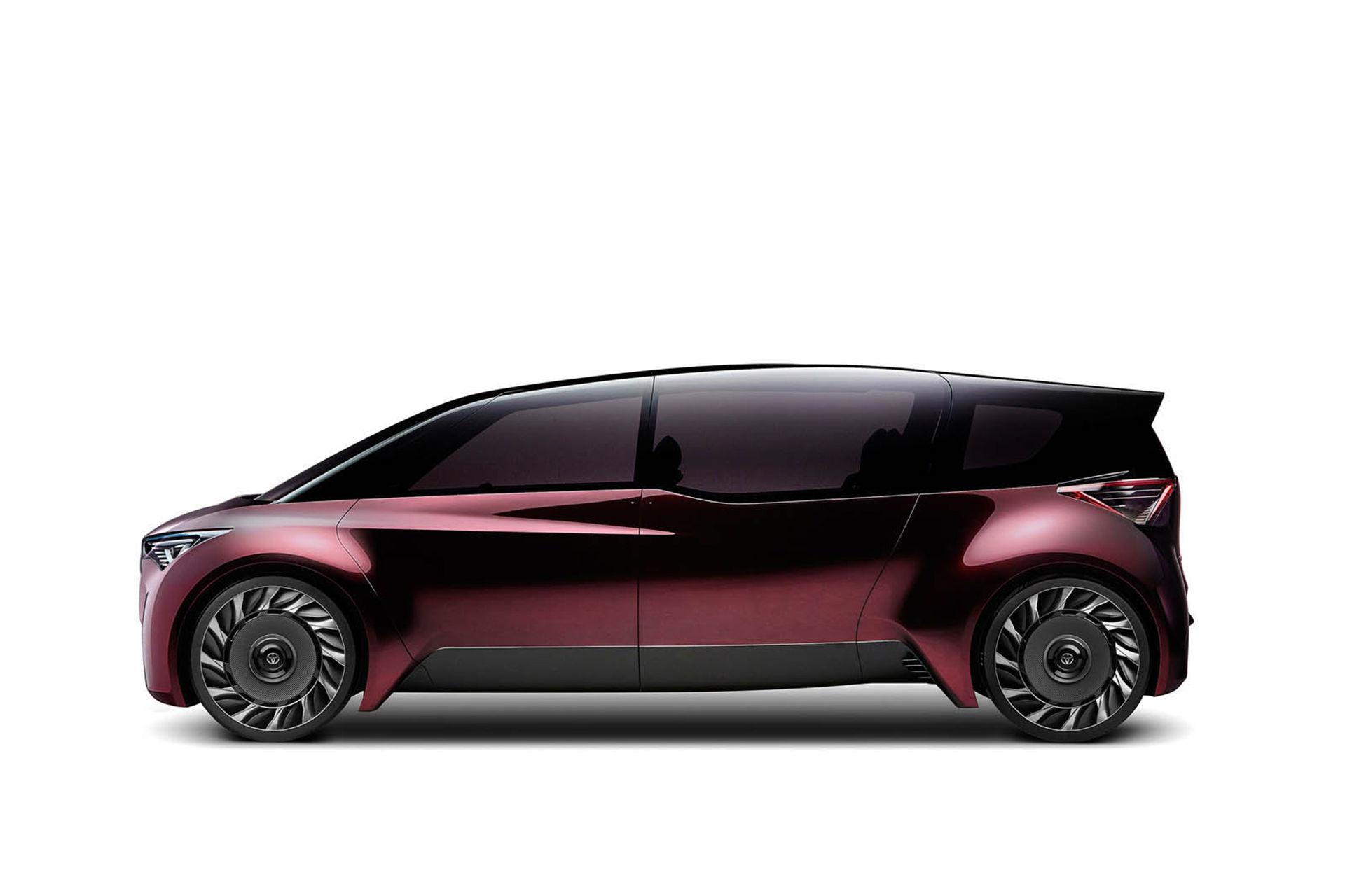 Vätgasdriven minibuss från Toyota