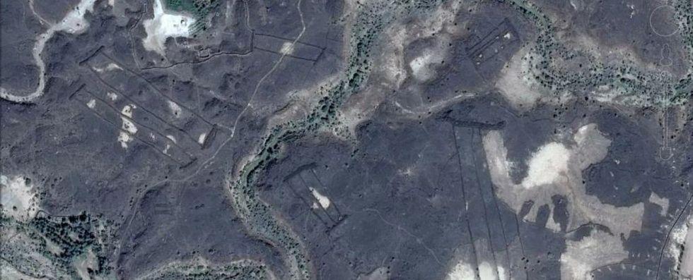 400 okända forntida monument hittade i Saudiarabien