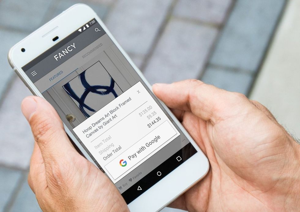 Google rullar ut Pay with Google