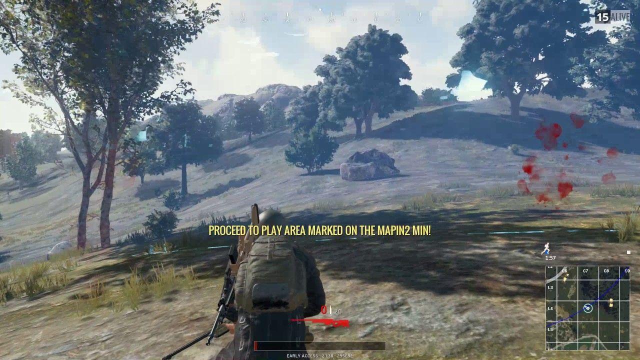Sköldzonen blir dödligare i Battlegrounds