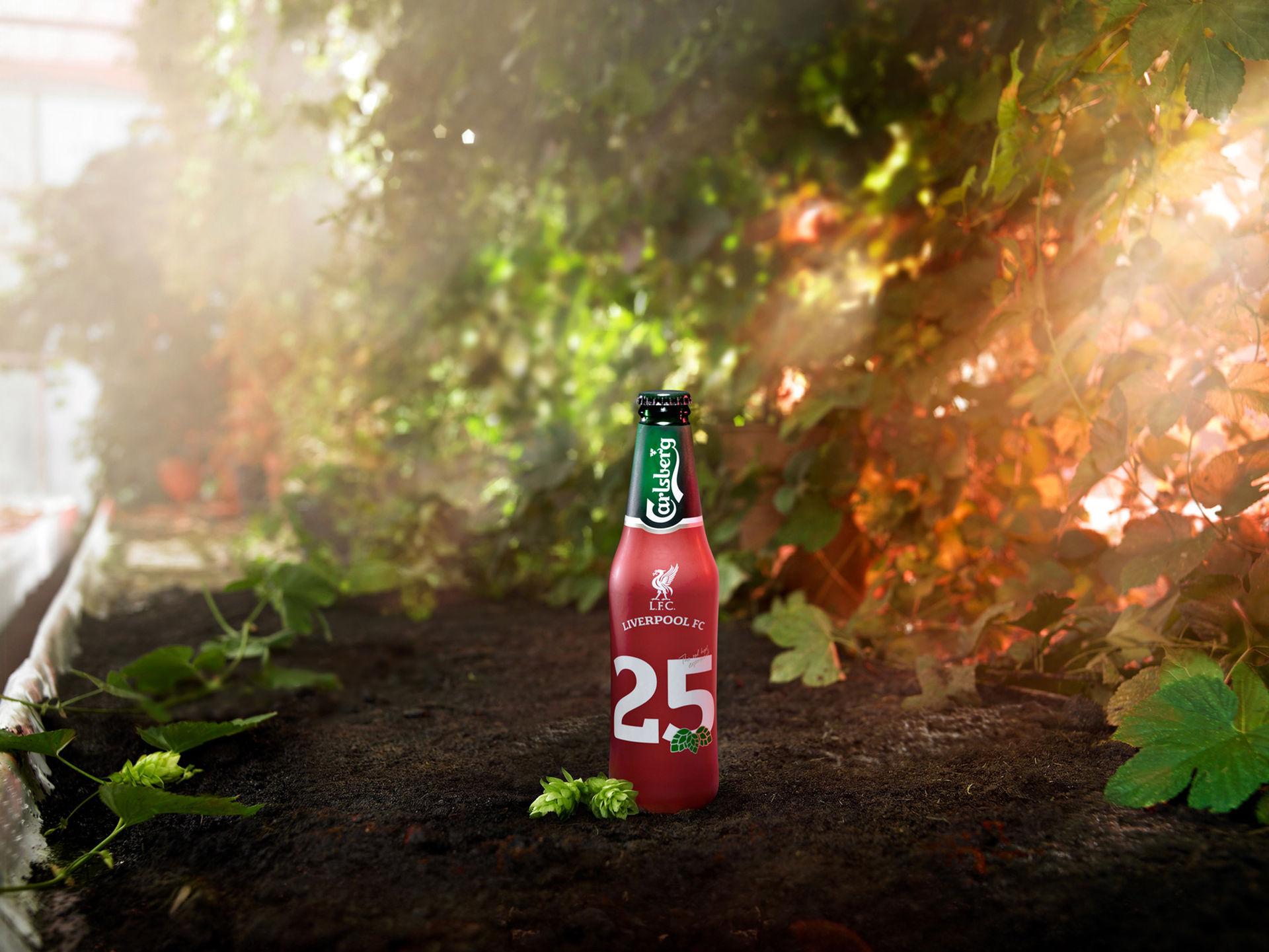 Carlsberg firar 25 år med Liverpool