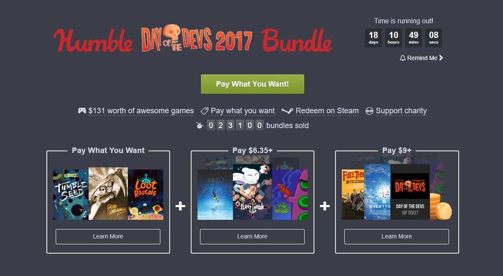 Fynda världens bästa spel i ny Humble Bundle