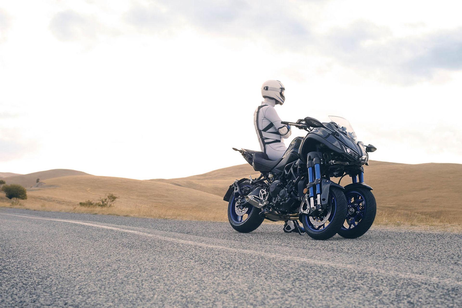 Niken - ny hoj med stödhjul från Yamaha