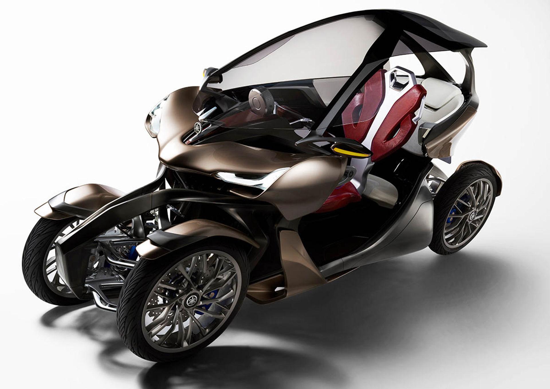 Är Yamahas nya koncept en bil eller båge?