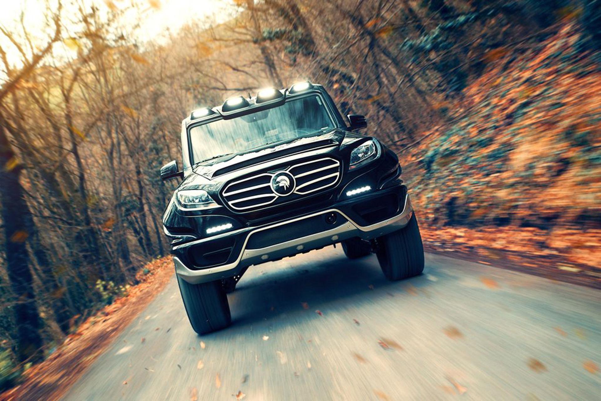 Mercedes G-Klass med nytt utseende