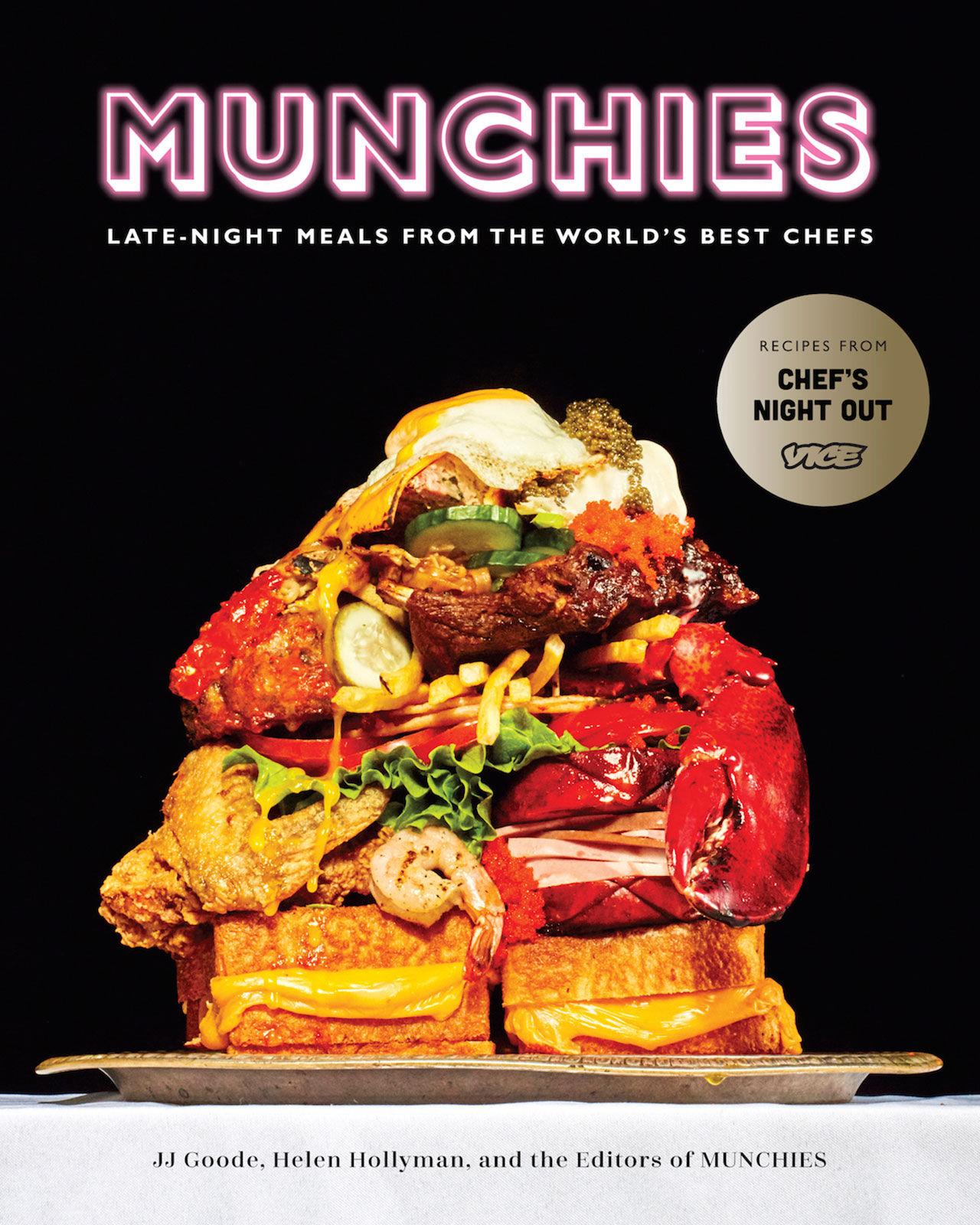 Munchies släpper kokbok