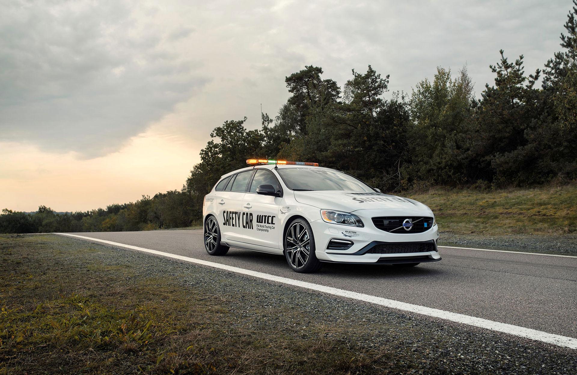 volvo v60 polestar wtcc safety car har uppdaterats f u00f6r