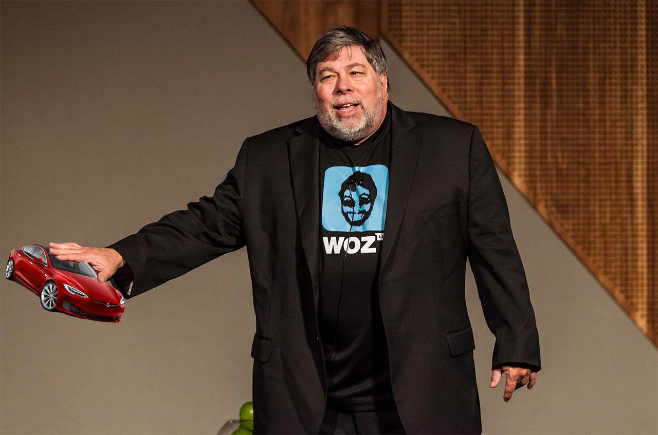 Steve Wozniak tycker att Tesla är överhajpat