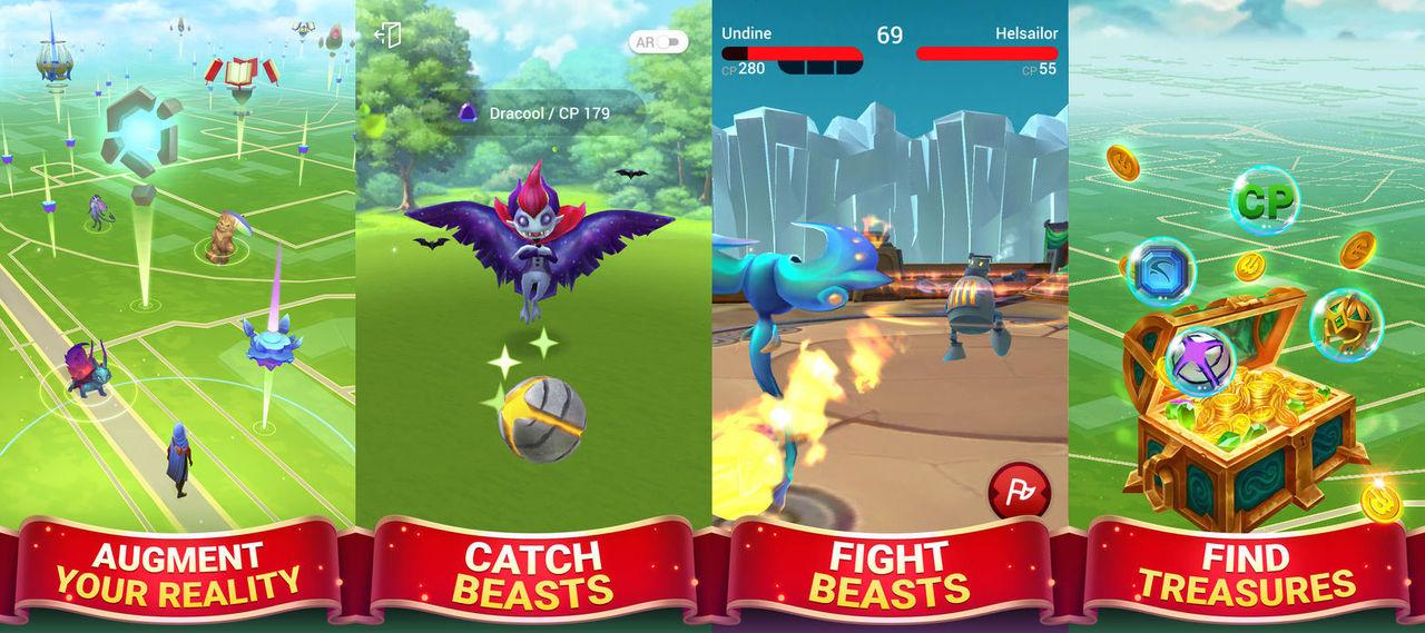 Draconius GO är en Pokémon GO-klon