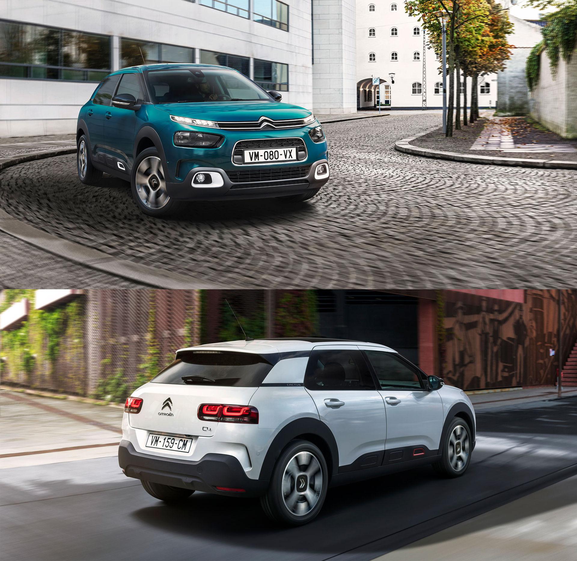 Citroën uppdaterar C4 Cactus