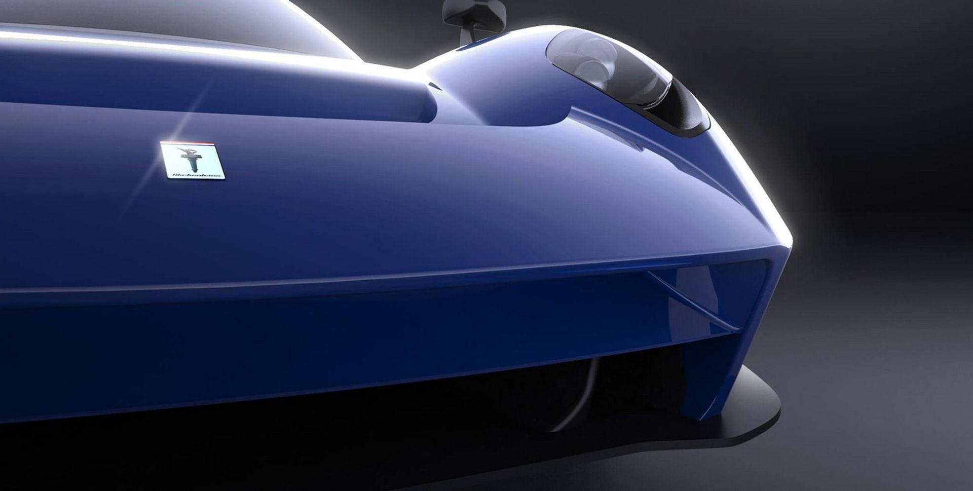 Teaser för Scuderia Cameron Glickenhaus nästa bil