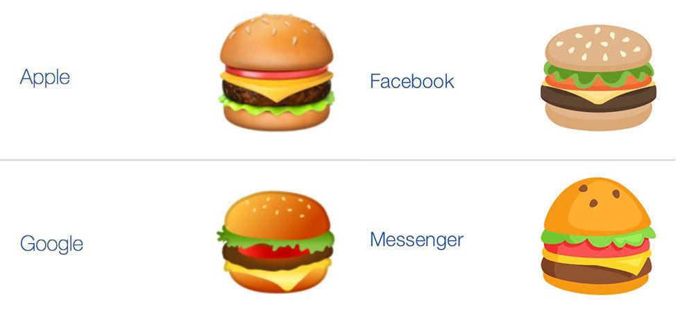 Googles VD ska göra allt för att fixa deras cheesburgar-emoji