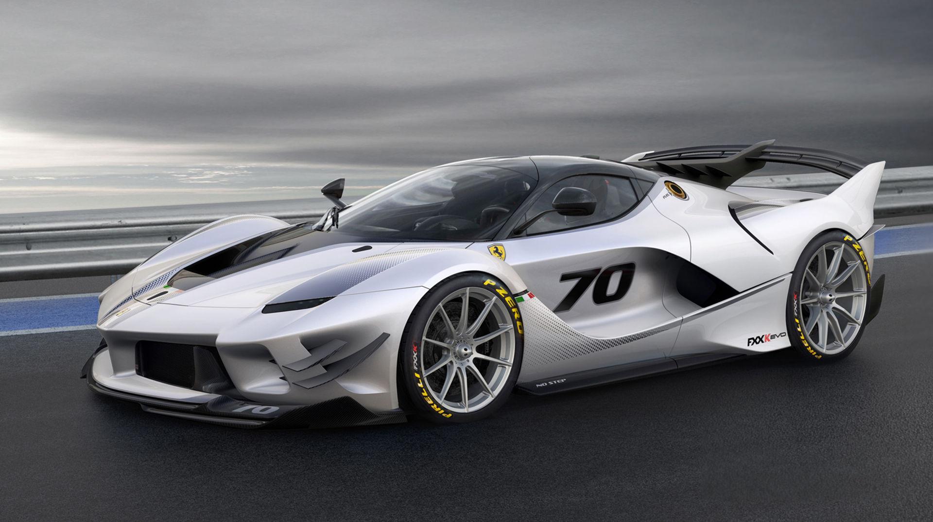 Ferrari FXX K kunde bli vassare - här är FXX K Evo