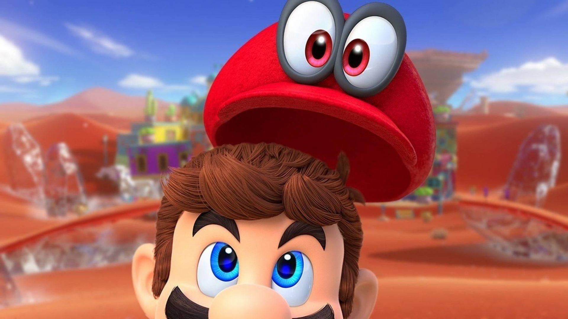 Emmy har lirat Super Mario Odyssey och älskar det