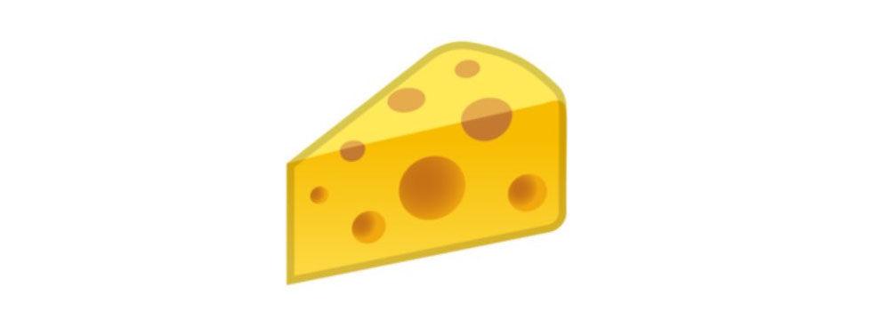 Emojigate del 3: En ost måste ju ha hål i sig!