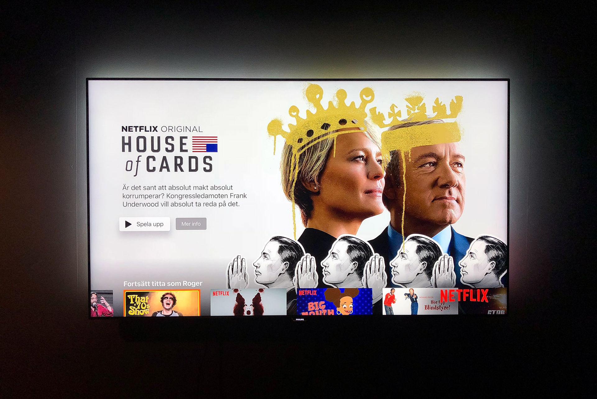Netflix lägger ner House of Cards