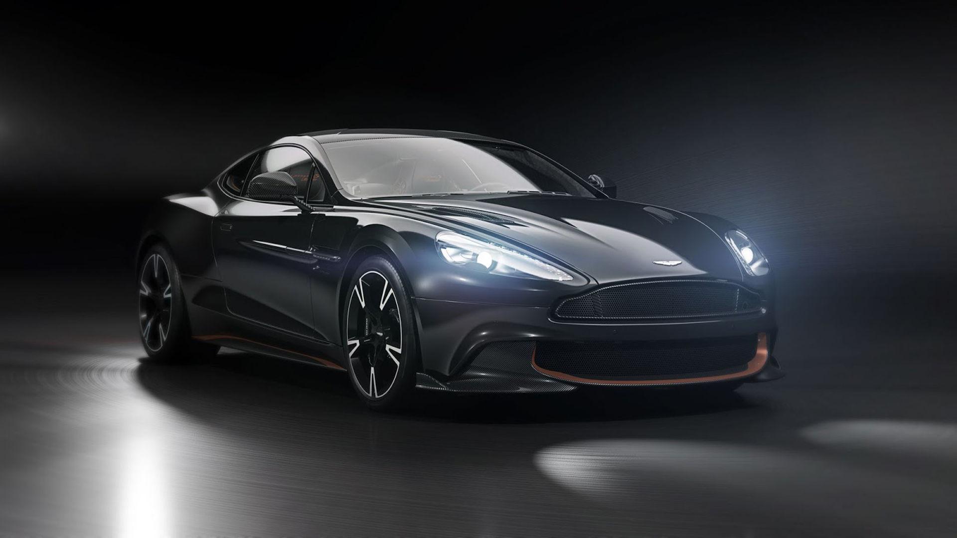 Aston Martin Vanquish S Ultimate vinkar av modellen