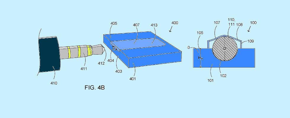 Microsoft har fått patent på en mindre hörlursingång