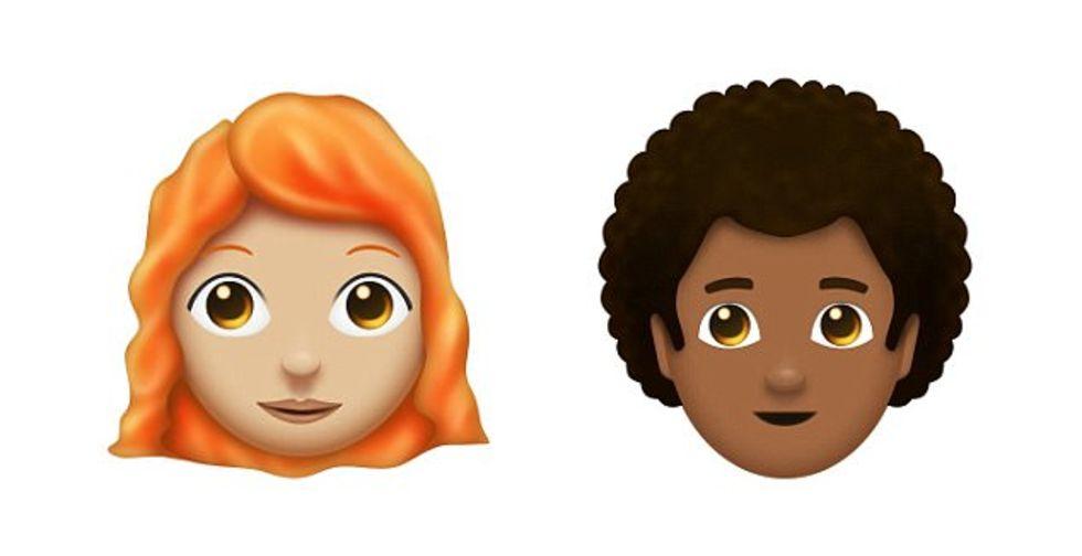 Nästa år kommer antagligen rödhåriga emojis