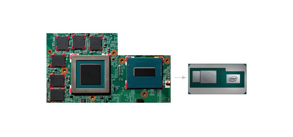 Intel och AMD bygger ihop CPU, GPU och minne i samma modul