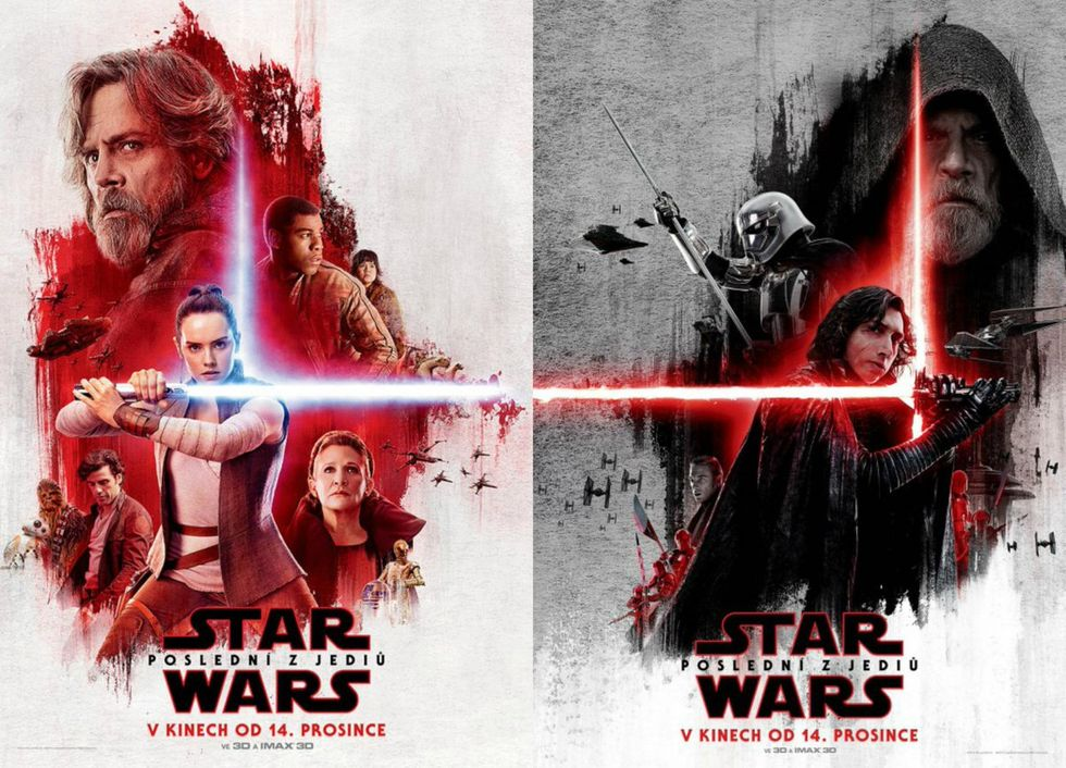 Här är lite affischer för The Last Jedi