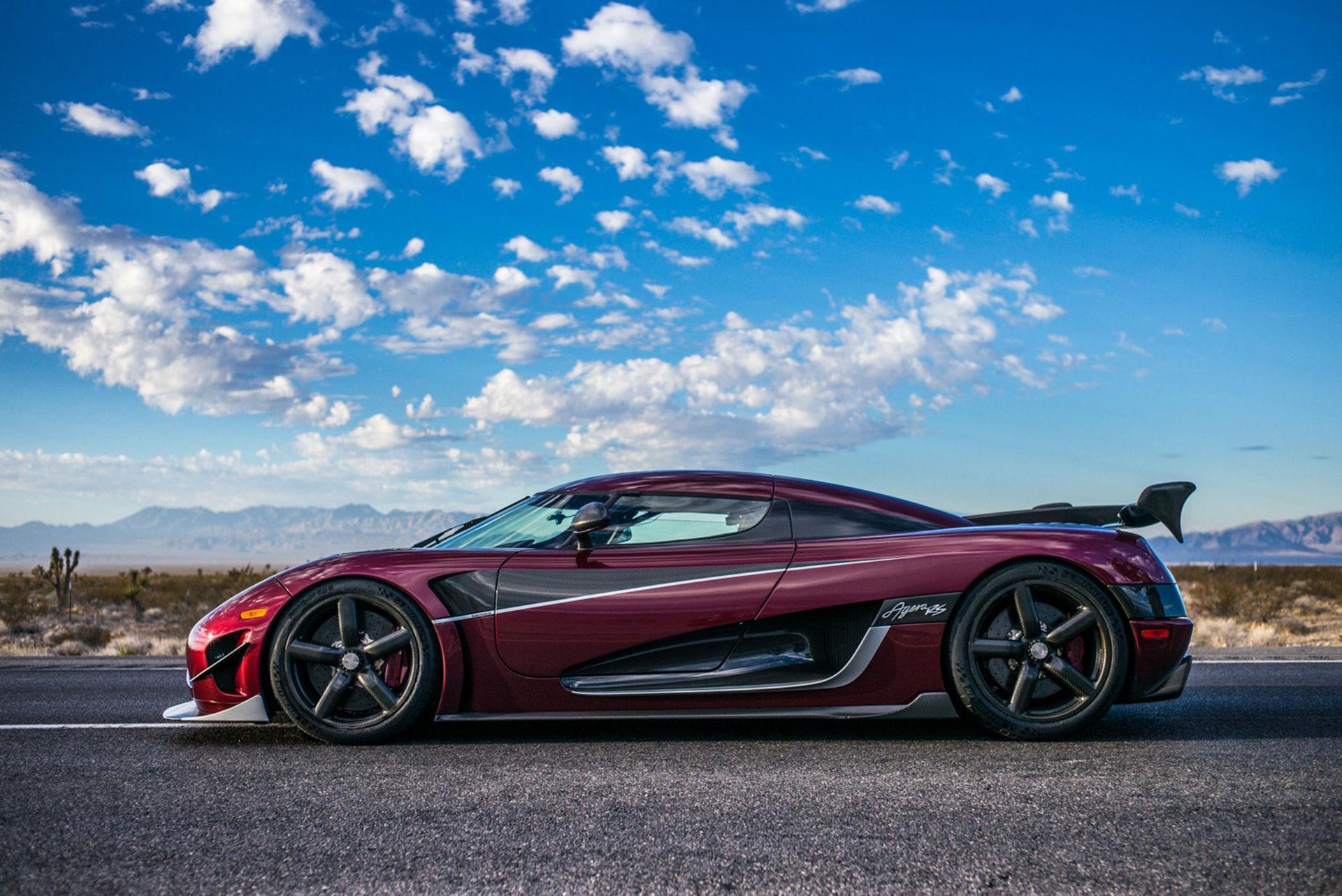 Koenigsegg berättar om de fem nya rekorden