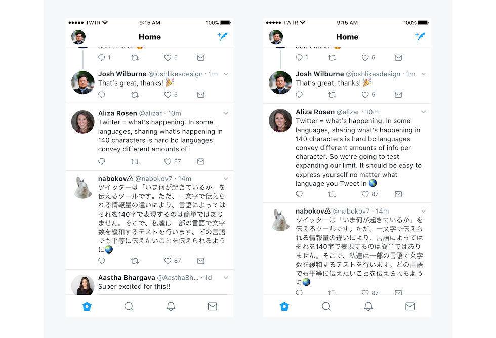 Längre meddelanden på Twitter