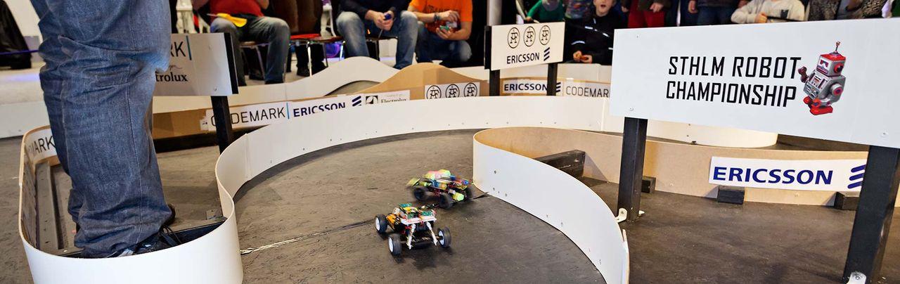Robothelg på Tekniska Museet