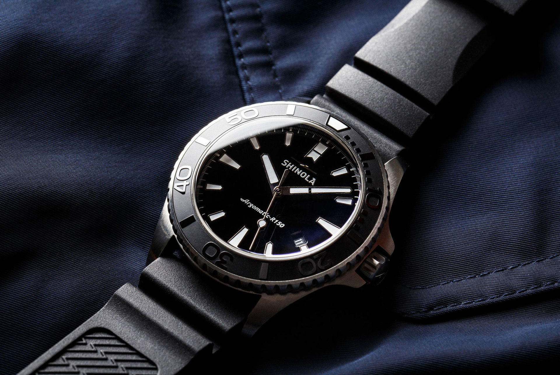 Shinola presenterar sin första mekaniska klocka