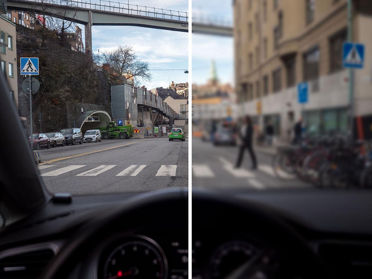 Svenska bilister tror att de ser bättre än vad de gör