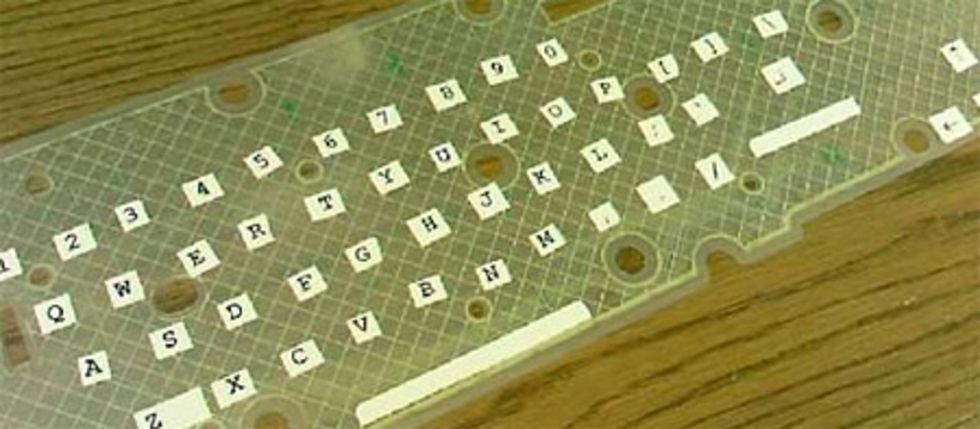 Förvandla hårt tangentbord till mjukt
