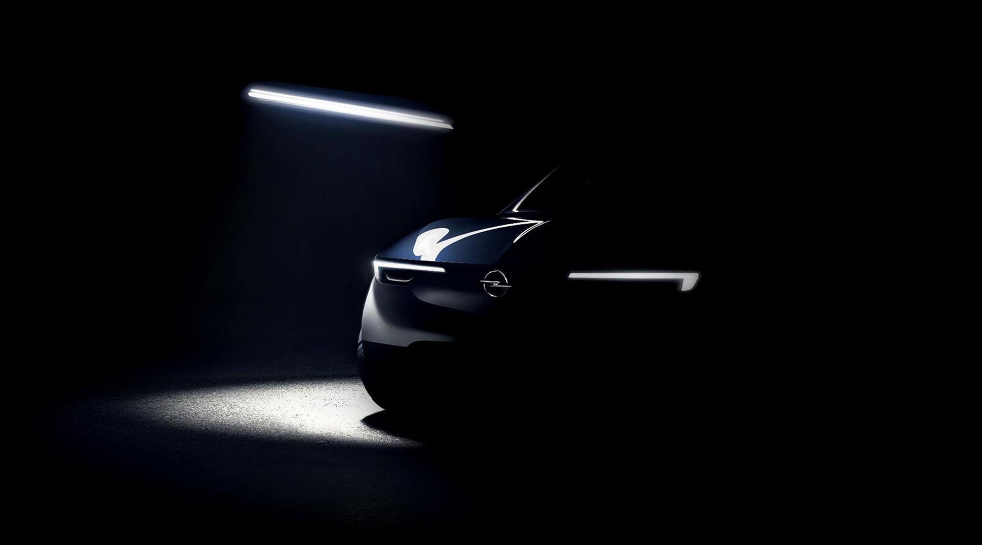 Opel visar skymten av ett nytt koncept