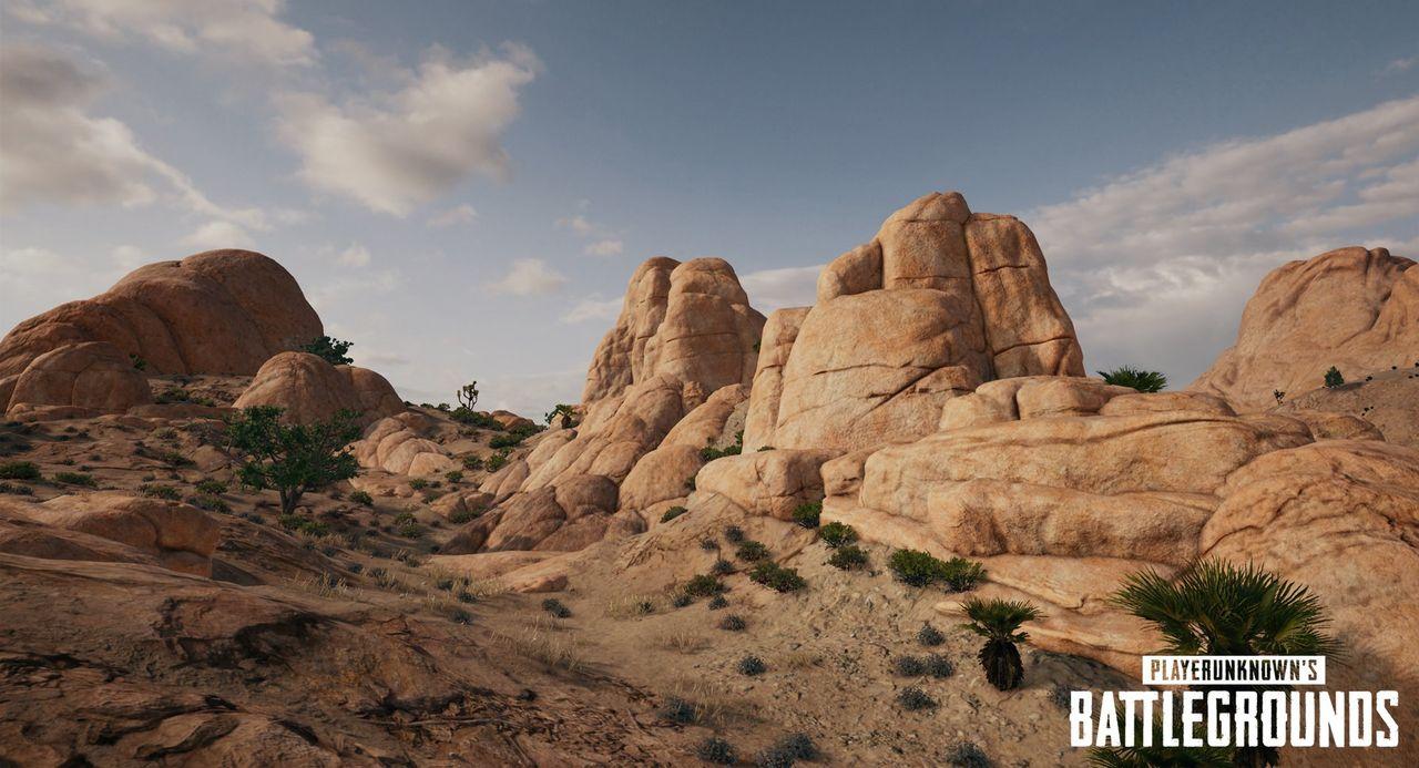 Nya bilder på ökenbanan till Battlegrounds