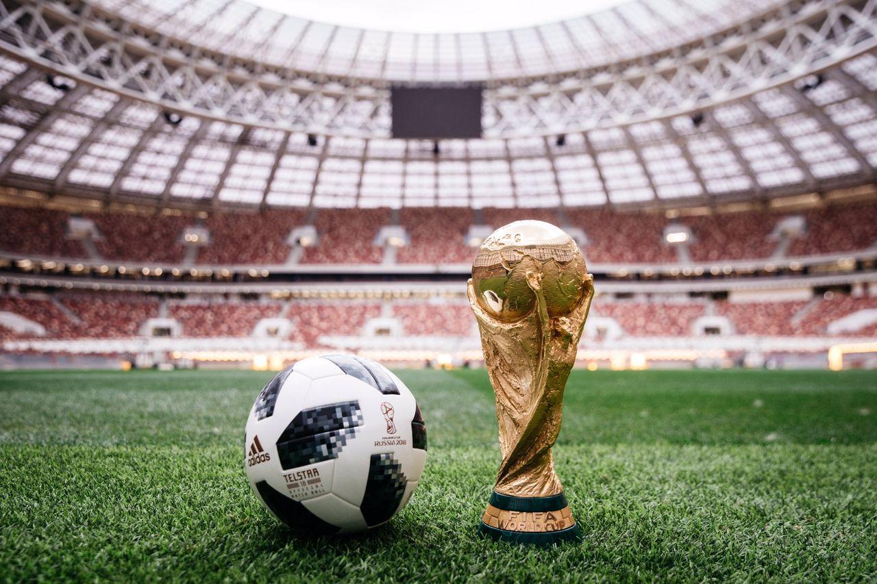 Adidas har presenterat vm-fotbollen Telstar 18