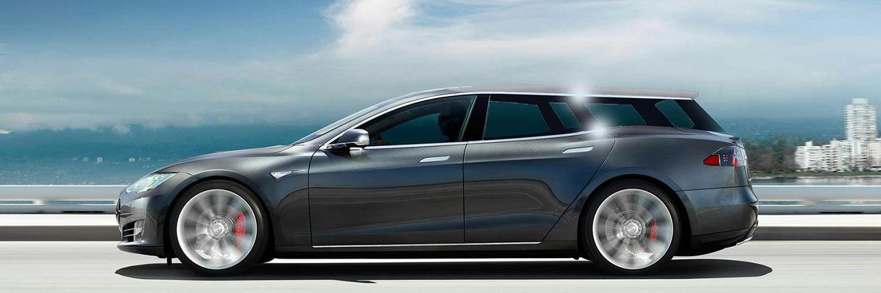Fully Charged tar sig en titt på Tesla Model S i kombikostym